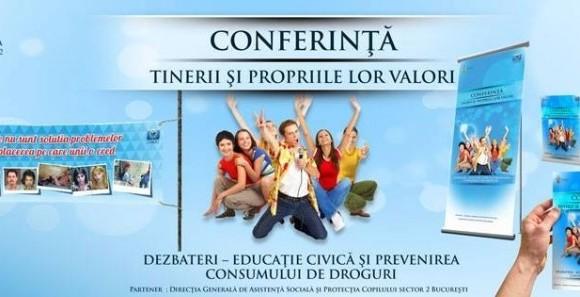 """Campanie de educatie civica în scolile sectorului 2 – """"Tinerii si propriile lor valori"""""""
